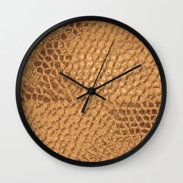 Mirrored Mosaics Wall Clock