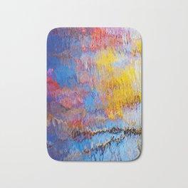 painted water Bath Mat