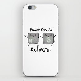 Power Couple Activate iPhone Skin