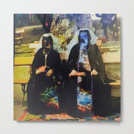 galaxy nuns Metal Print