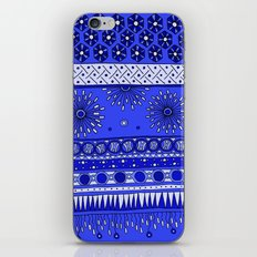 Yzor pattern 007-2 blue iPhone & iPod Skin