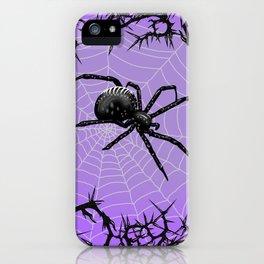 Briar Web- Purple iPhone Case