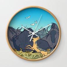 Black-Backed Jackal Wall Clock