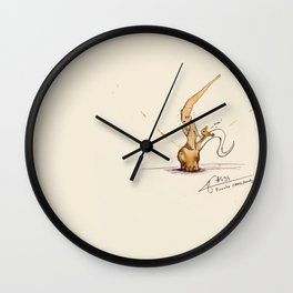 #coffeemonsters 494 Wall Clock