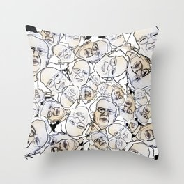 All aboard the B train! Throw Pillow