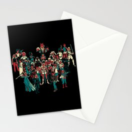 LADY KNIGHTS!! Stationery Cards
