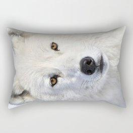 Up close and personal Rectangular Pillow