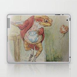 Jeremy Fisher by Beatrix Potter Laptop & iPad Skin