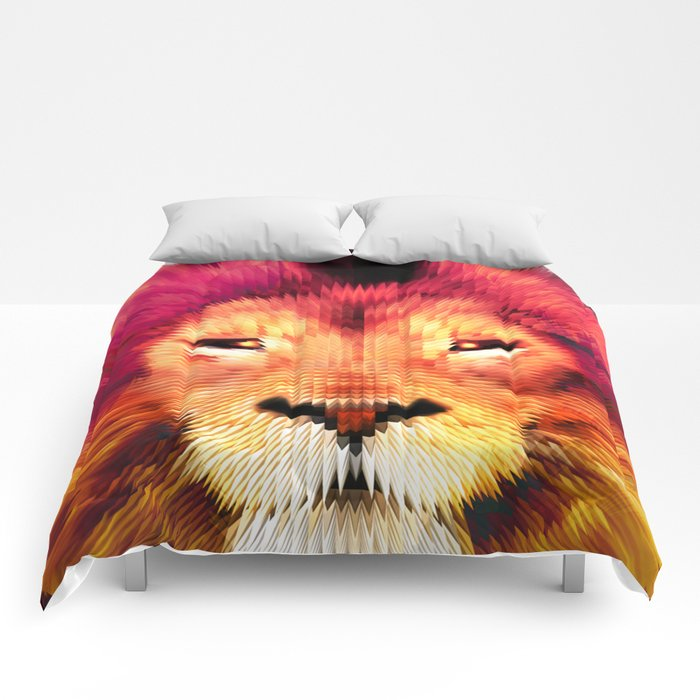 BIG CAT LION Comforters