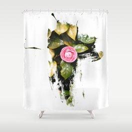 Flower child  Shower Curtain