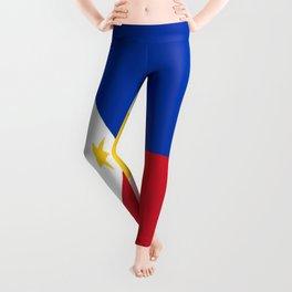 flag of philippines Leggings