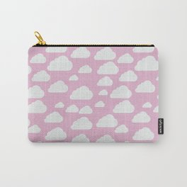 Clouds on Rose Carry-All Pouch