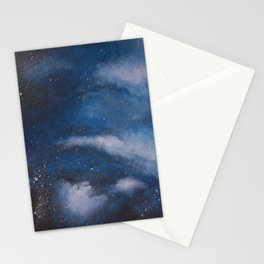 Abstract Night Skye Stationery Cards