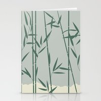 bamboo Stationery Cards featuring Bamboo by Rceeh