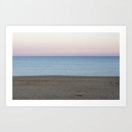 Playa Pastels Art Print