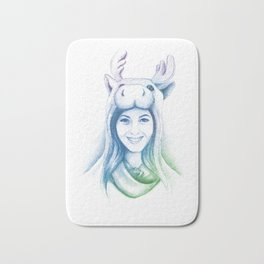 Speechless Collection - Moose Woman Bath Mat