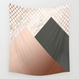 Copper & Marble 06 Wall Tapestry