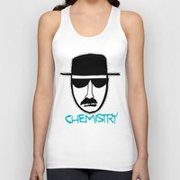 chemistry Tank Tops featuring Chemistry by John Michael Gill