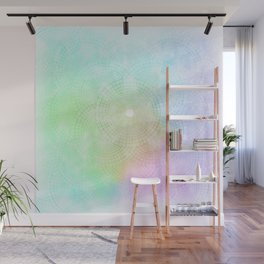 A Splash of Pastel Wall Mural