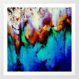Colors In Motion Art Print