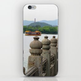 Dragon Boat to the Summer Palace iPhone Skin