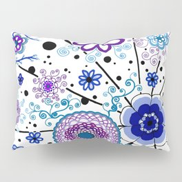 Ka-BLUE-ie! Pillow Sham