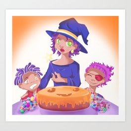 My Sweet Witch Art Print