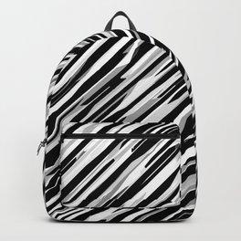 Diagonals mix gray Backpack