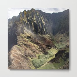 Touched by the Divine: Hawaii's Kalalau Valley Metal Print
