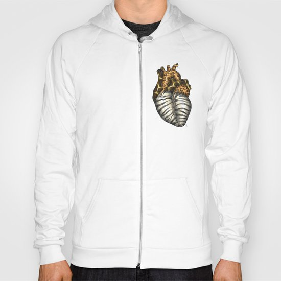 Heart gone wild - color  Hoody
