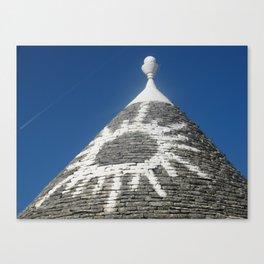 Trulli Alberobello Canvas Print