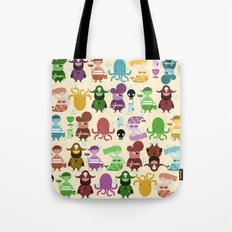 pirate pattern Tote Bag