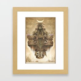 chieftain Framed Art Print