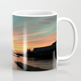 Autumn Sunrise Bar Harbor maine Coffee Mug