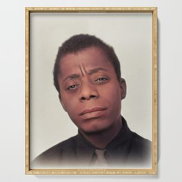 James Baldwin, Literary Legend Serving Tray