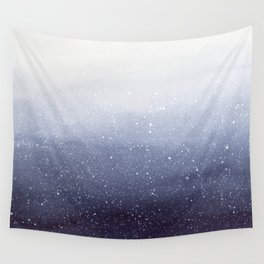 Falling Snow Wall Tapestry