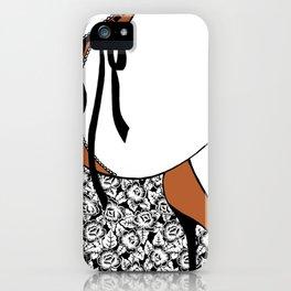 La femme n.19 iPhone Case