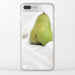 Tasteful Porn: Pear #1 Clear iPhone Case