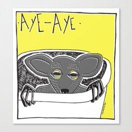 """Aye aye"" Canvas Print"