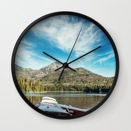 Float Plane Inlet Wall Clock