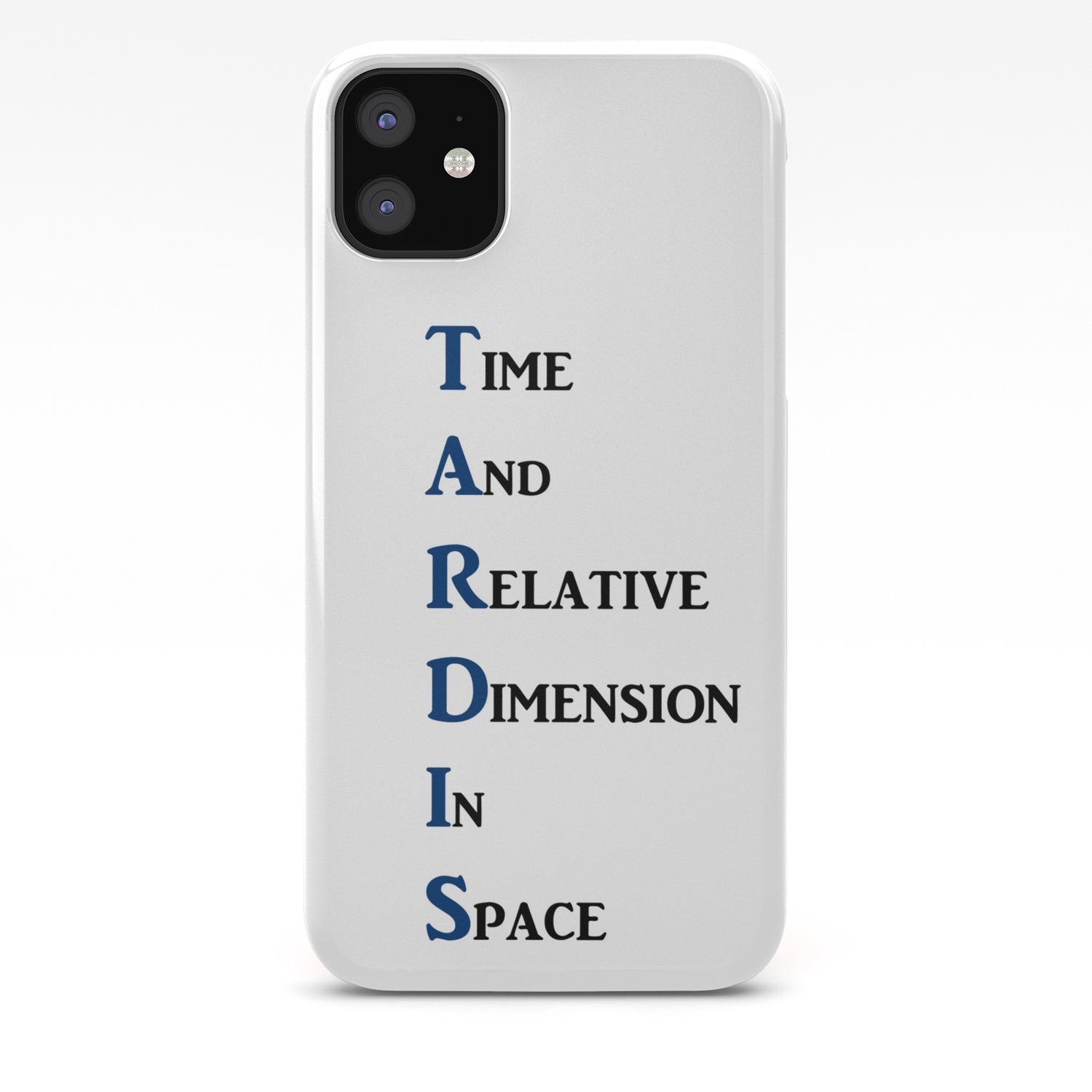 Doctor Who Tardis In Space iphone case