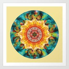 Mandalas from the Heart of Surrender 4 Art Print