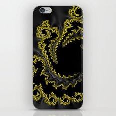 Kimono in Yellow iPhone & iPod Skin