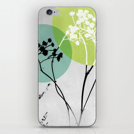 Abstract Flowers 2 iPhone & iPod Skin