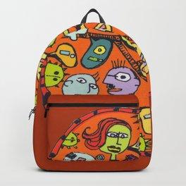 EH-IH-UH Heads Backpack