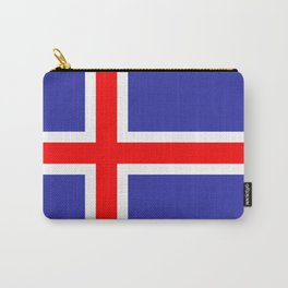 Iceland National Flag Carry-All Pouch