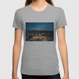 Athens Greece at Dusk T-shirt