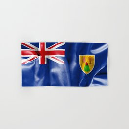 Turks and Caicos Islands Flag Hand & Bath Towel