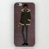 durarara iPhone & iPod Skins featuring Izaya Orihara by JHTY