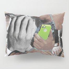 Gettin' Handsy Pillow Sham